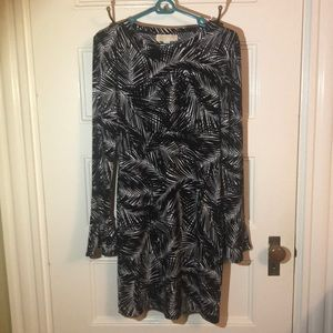 Michael Kors tropical fern printed dress